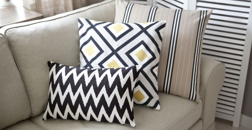 подушки в декоре