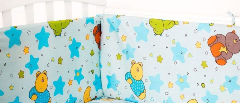 подушки для кроватки