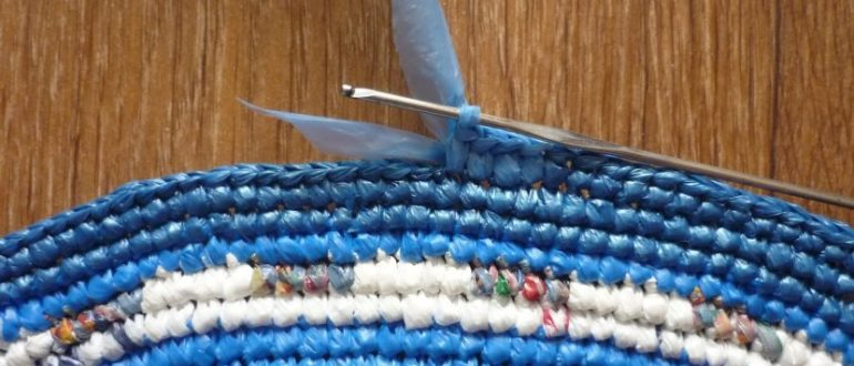 плетем половик