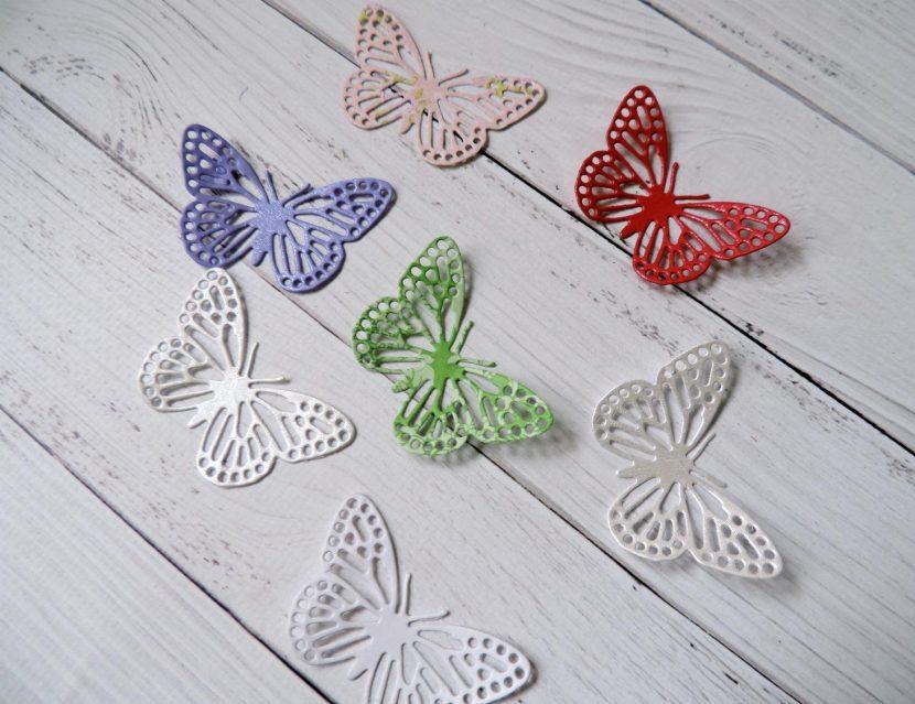 делаем бабочки
