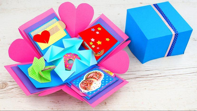 цветная коробка