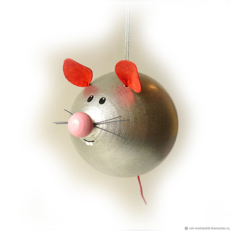 мышка из шара