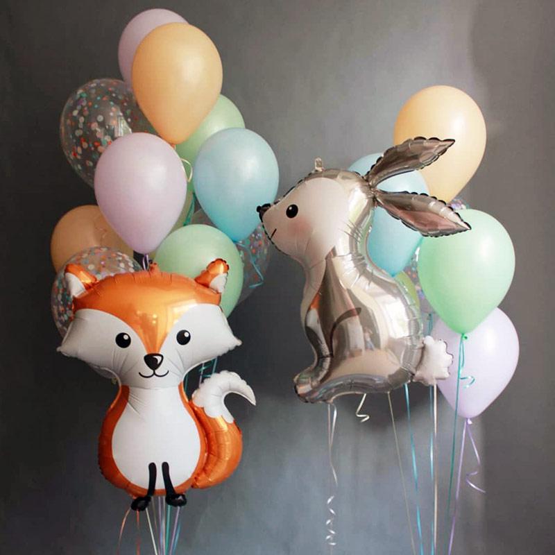 Животные и звери из воздушных шаров