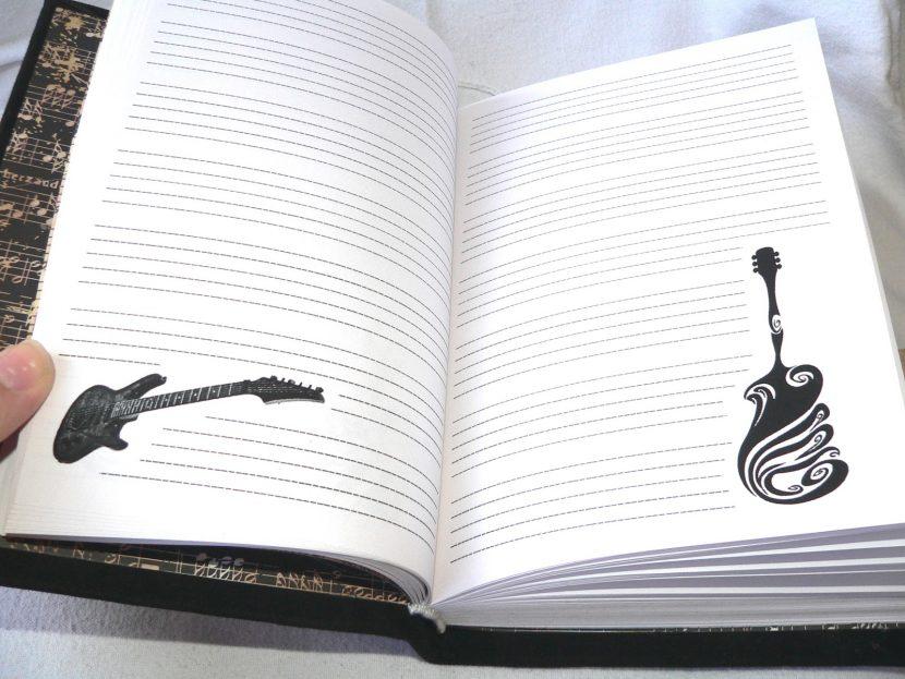 блокнот для музыканта