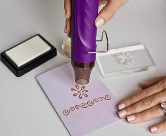Специальный фен для горячего эмбоссинга: профессиональный подход к рукоделию